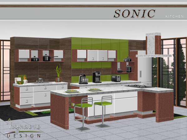 NynaeveDesigns Sonic Kitchen