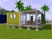 literallyjess' Two Bedroom Storage Container Home