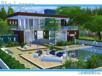 sims lagoon story houses modern tsr lenabubbles82 lots thesimsresource nice person single themed mar published residential category
