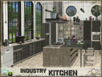 BuffSumm's Industry Kitchen