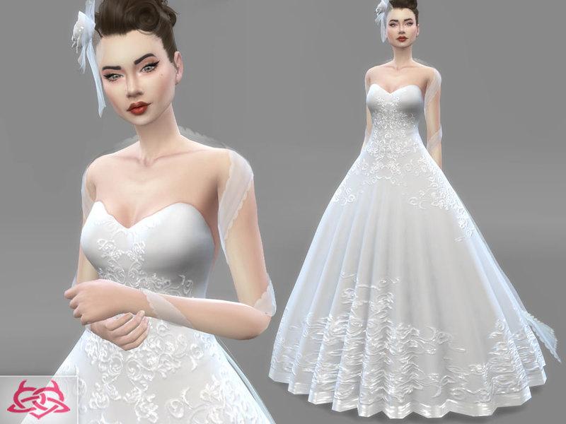 Colores Urbanos' Wedding Dress 1(original Mesh