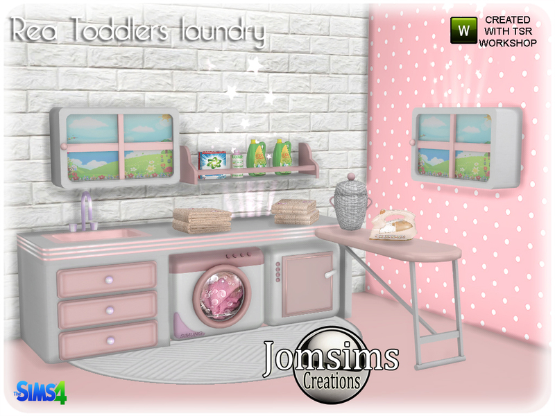 jomsims Rea toddlers laundry