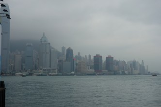 Foggy View of the Skyline