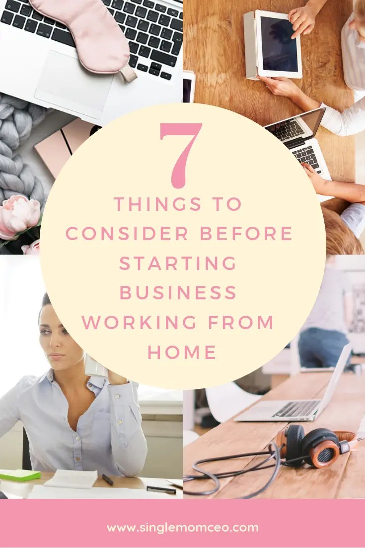 Have you ever thought about working from home? Here are some things to consider before you start.