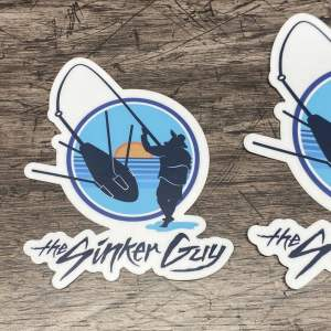 Sinker Guy Stickers