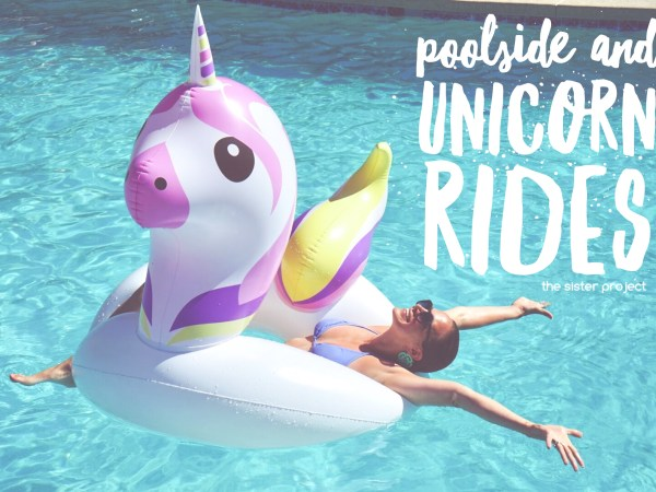 Poolside and Unicorn Rides