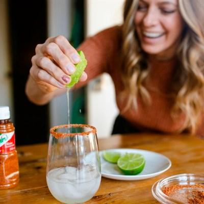 Spicy Tequila Spritz