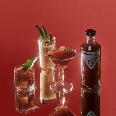 I'm Cutting Back on Booze & Mixing Mocktails