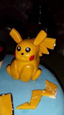 Fondant Pikachu