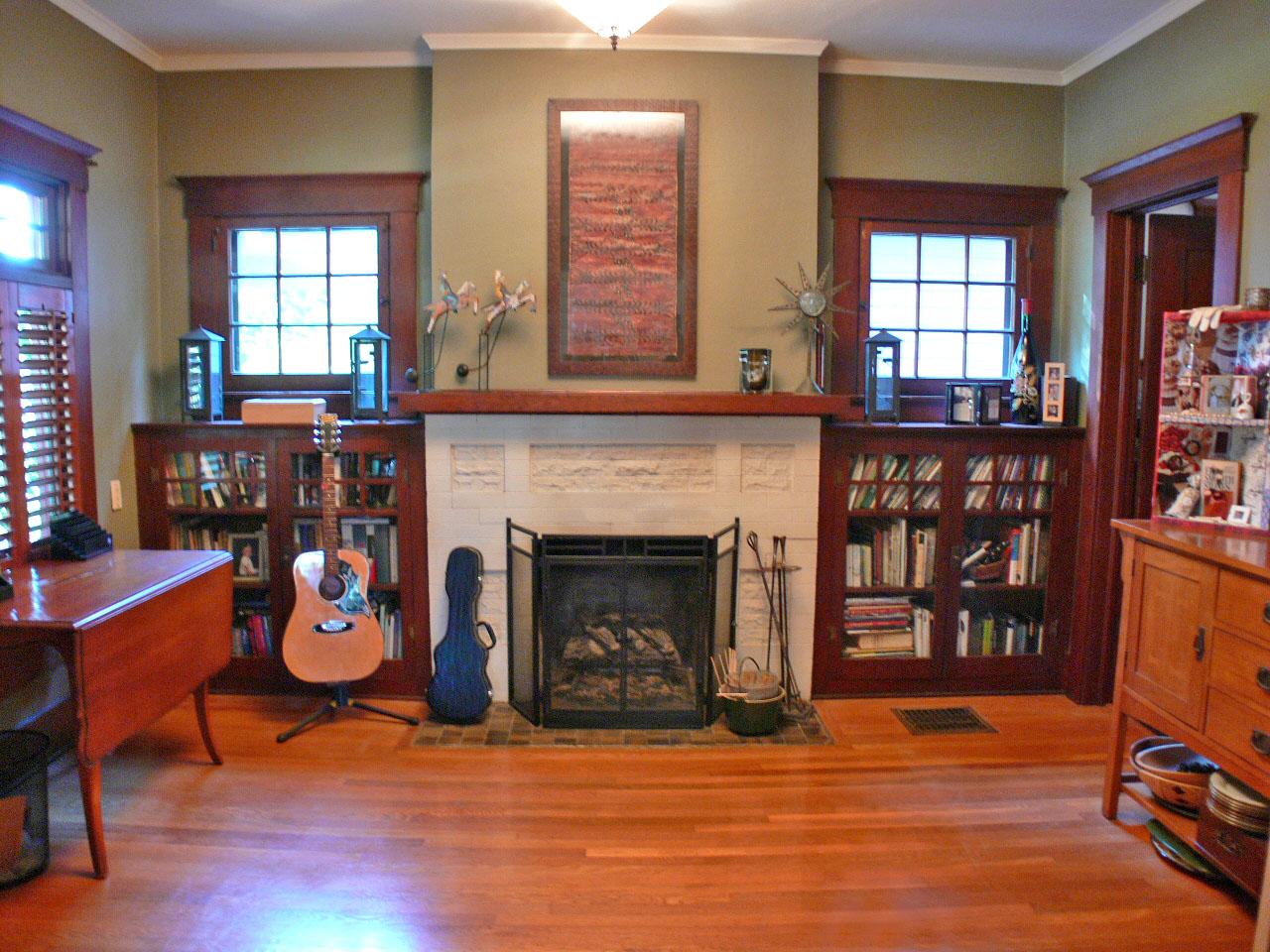 formal living room with brick fireplace small studio apartment ideas tara & april glatzel | the sister team info for ...