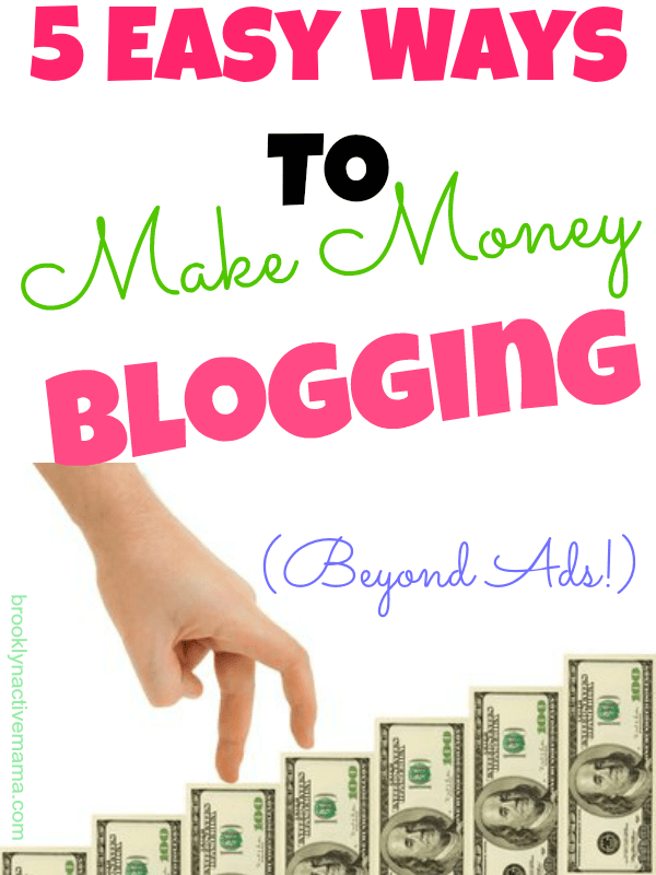 5 Easy Ways To Make Money Blogging  The Sits Girls
