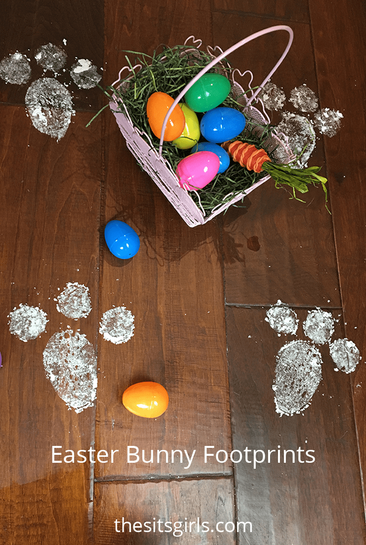 How To Make Bunny Footprints With Baby Powder : bunny, footprints, powder, Easter, Bunny, Footprints