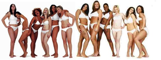 Dove Models Real Beauty Campaign