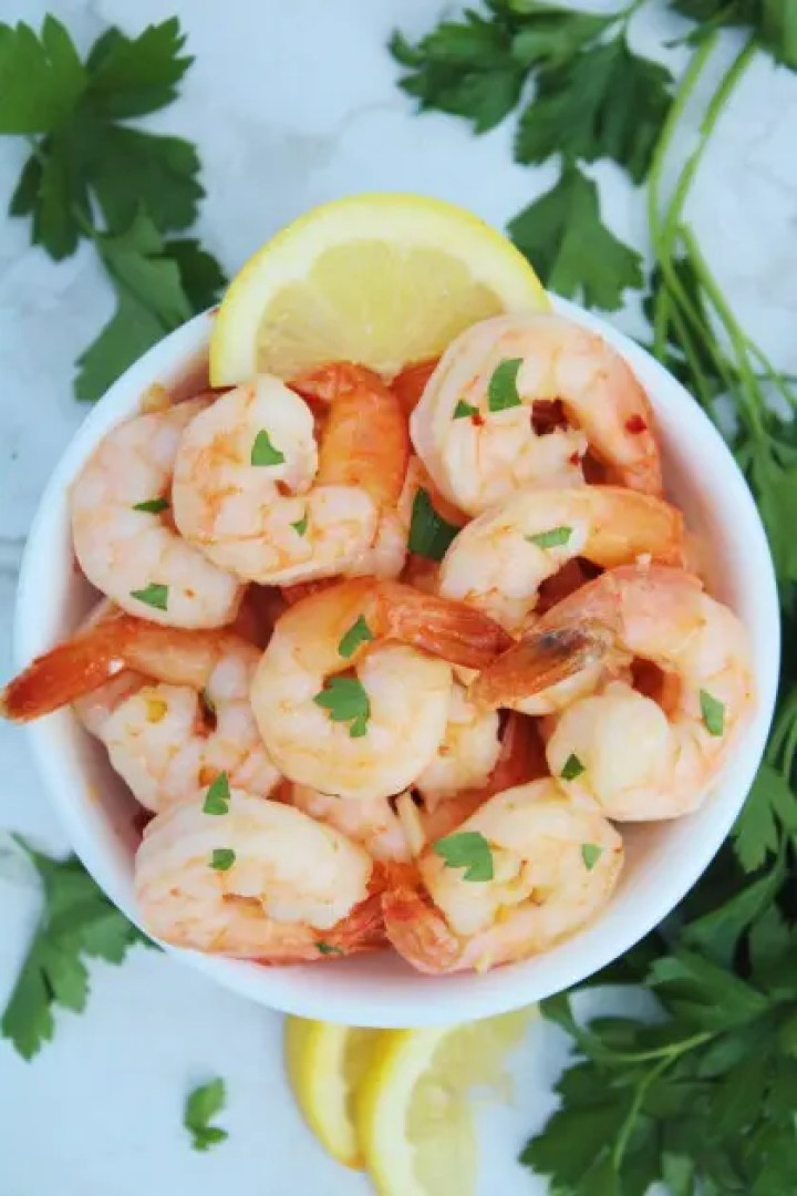 Air Fryer Garlic Shrimp