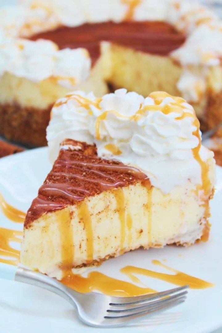 Instant Pot RumChata Cheesecake