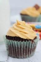 Air Fryer Twix Cupcakes