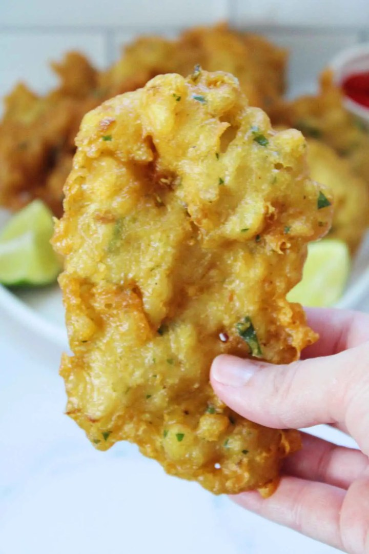 An easy cod fish fritter recipe.