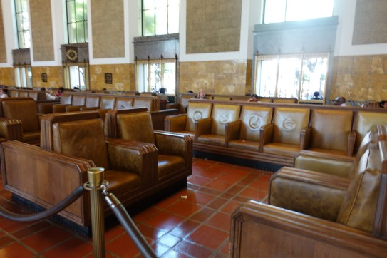 The waiting room at Union station