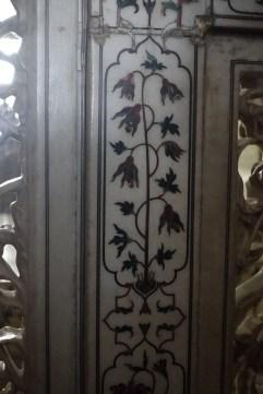 Taj Mahal tile mosaic