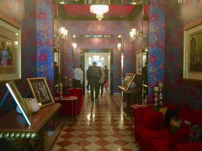 Entry at Raj Mahal Palace Hotel