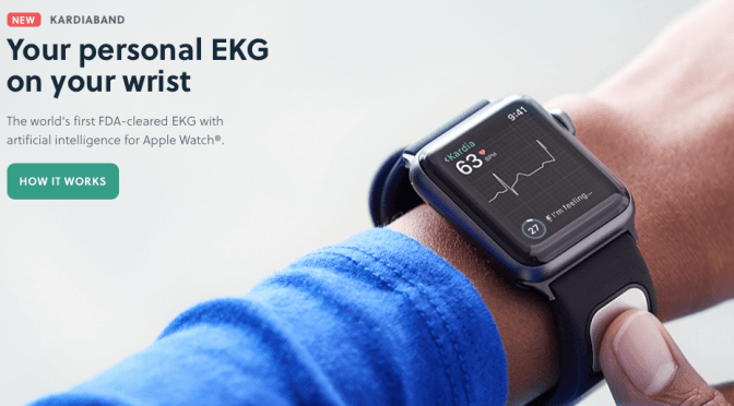 AliveCor's Kardia Band Is Now Available:  Mobile ECG On Your Apple Watch