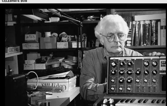 Let's Celebrate Bob Moog's Birthday Today: Be Creative!