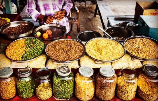 spice market stall colors shop shopkeeper