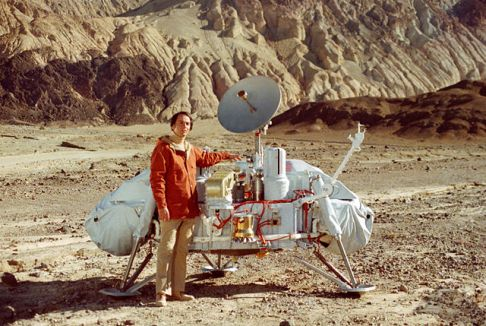 carl sagan viking mars exhibit