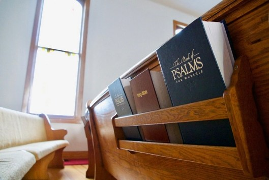 bible books pew bench wooden church