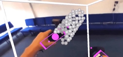 VR virtual reality modelling software nanoscale structures