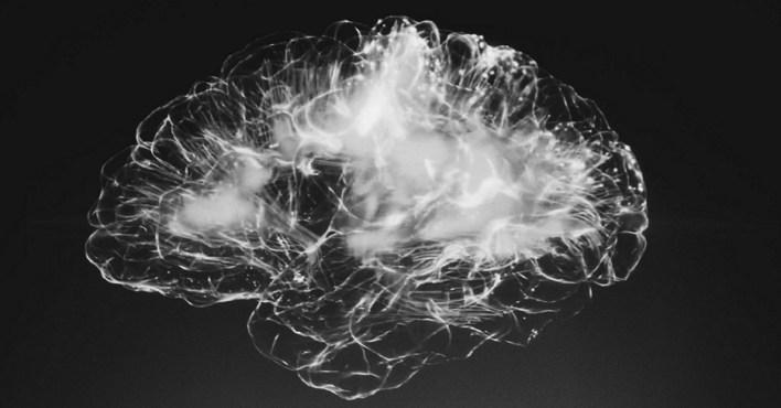virtual brain black white neural network