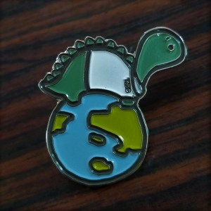 Enamel pin - diplodocus