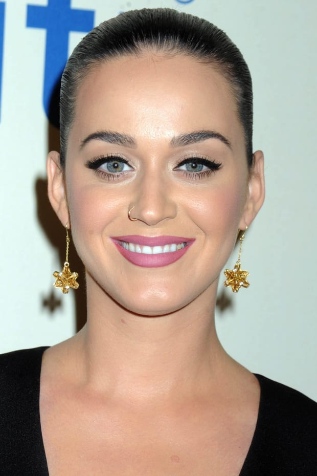 Katy Perry Eye Brows : perry, brows, Perry, Before, After:, Skincare