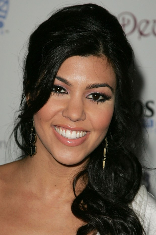Kourtney Kardashian, Kim Kardashian birthday party, 2007