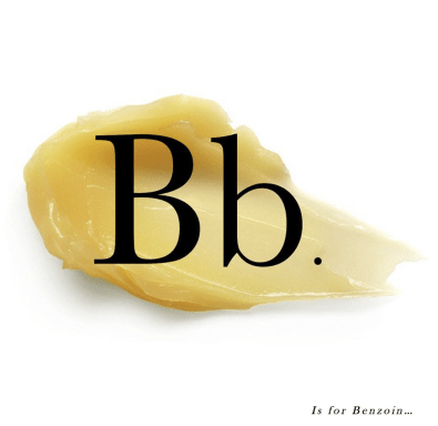 B is for Benzoin