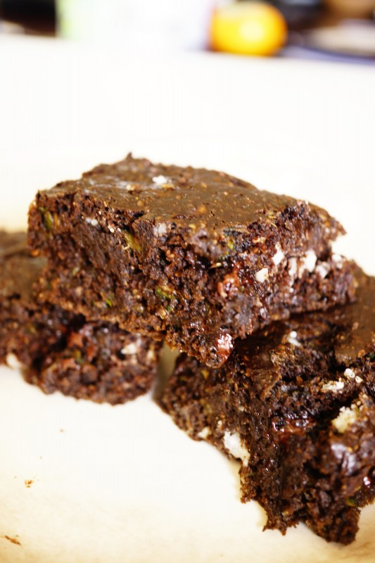 Low calorie chocolate brownie