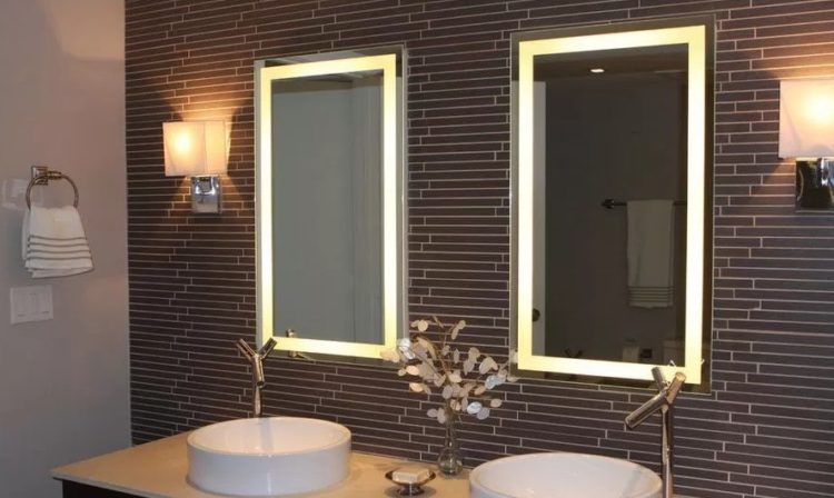 Enjoy Your Bath Time With These Beautiful Design of Bathroom Mirror Ideas 11