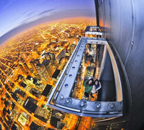 The Ledge Willis Tower Chicago