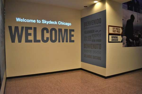 Personalize Skydeck Chicago Visit Personal Message