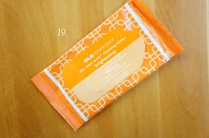 Ole Henriksen the clean truth cleansing cloths
