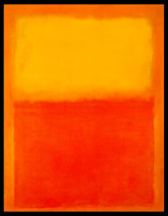 Mark Rothko, Orange et jaune