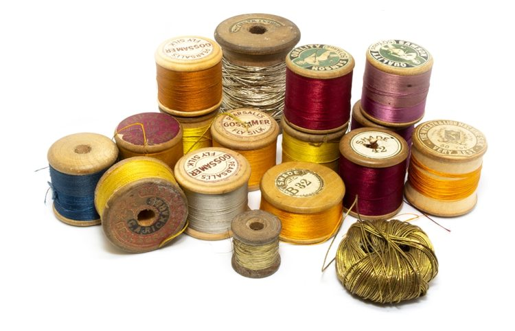 flytying silk threads