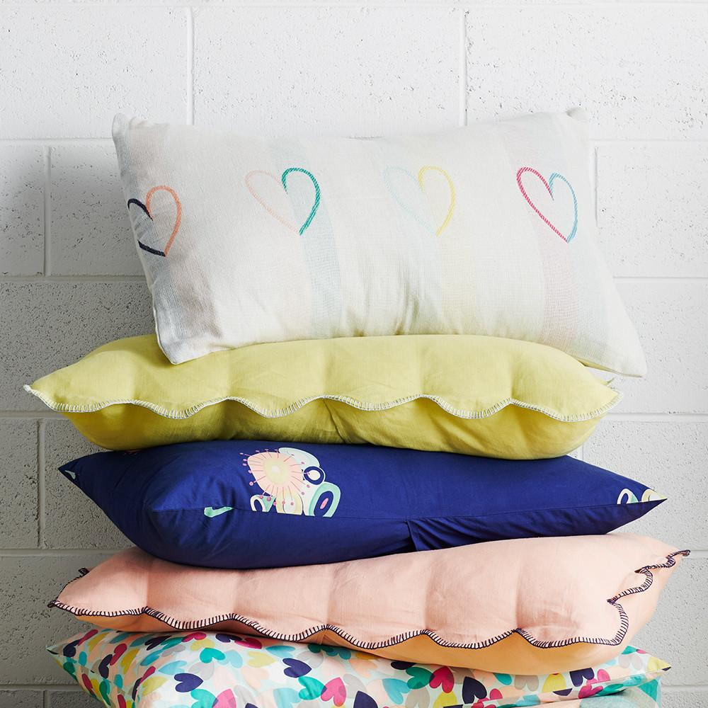 Willow Scallop Pillowcase