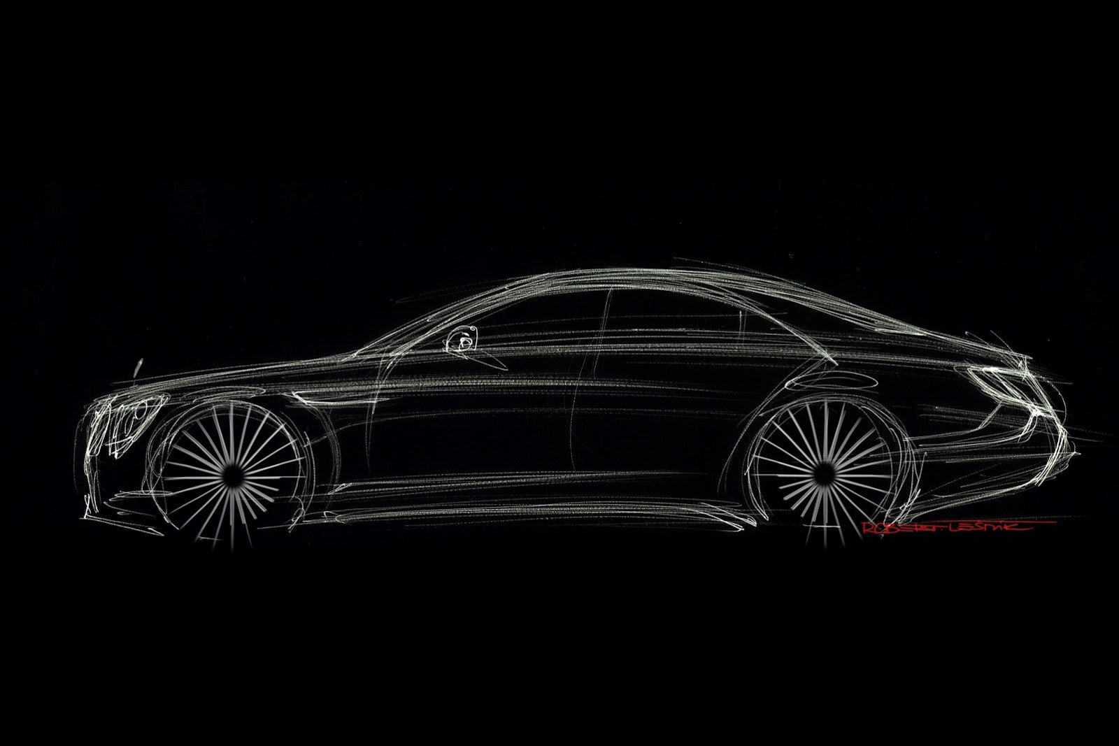 2014 Mercedes Benz S-Class Sketch - SMADE MEDIA (4)