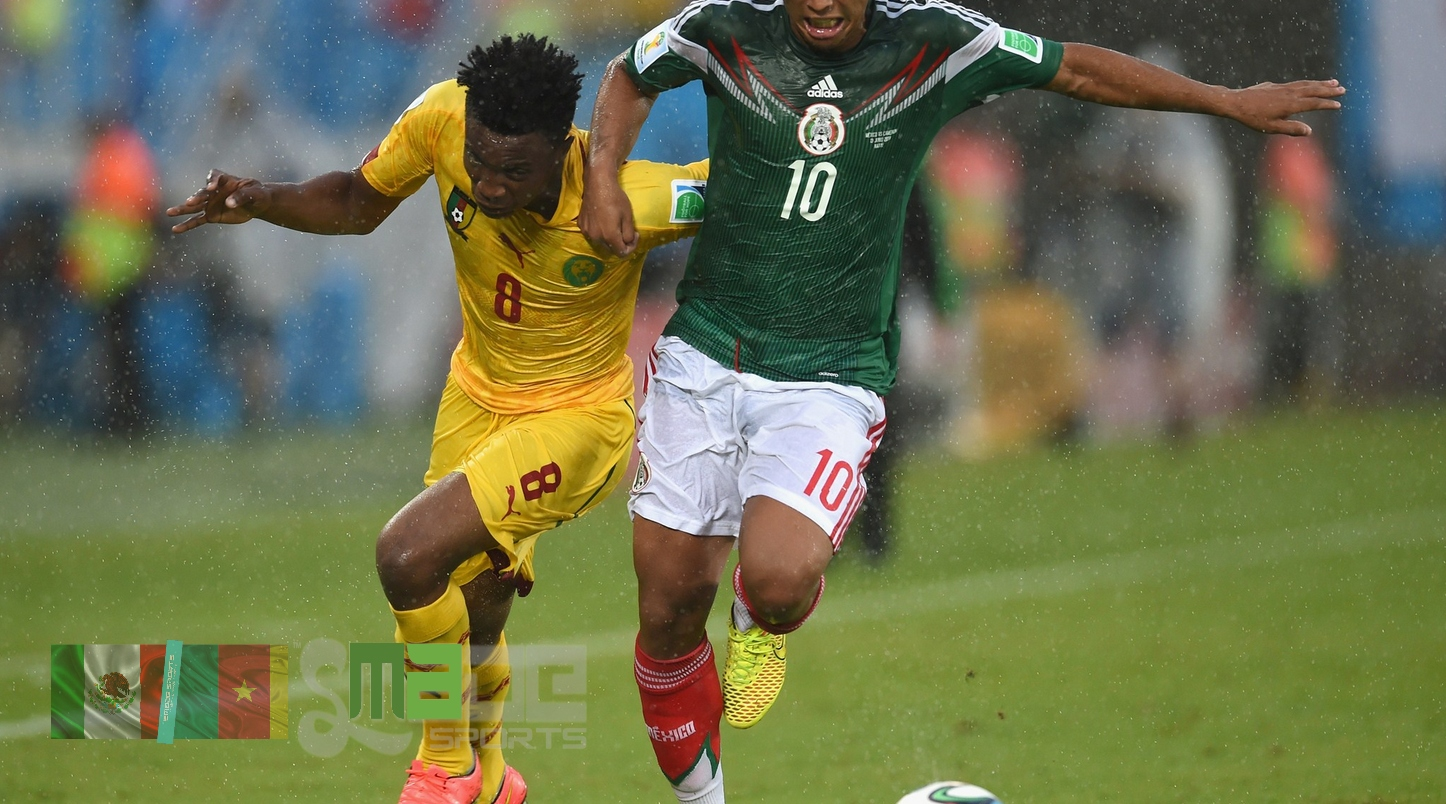 #SMADESPORTS FIFA WORLD CUP - MATCH 2 - MEXICO CAMEROON (17)