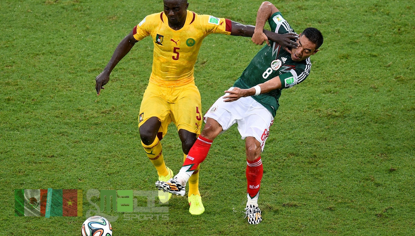 #SMADESPORTS FIFA WORLD CUP - MATCH 2 - MEXICO CAMEROON (4)