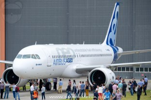 Airbus A320neo first rollout