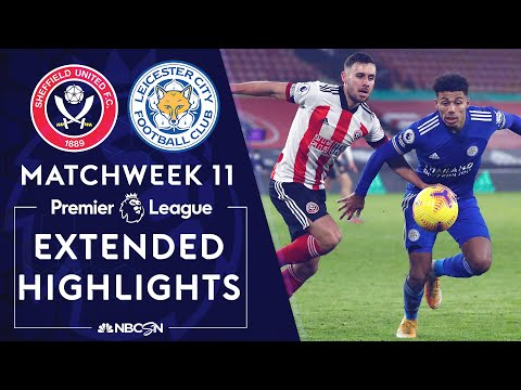 Sheffield United v. Leicester City   PREMIER LEAGUE HIGHLIGHTS   12/6/2020   NBC Sports
