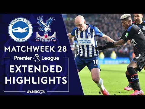 Brighton v. Crystal Palace | PREMIER LEAGUE HIGHLIGHTS | 2/29/2020 | NBC Sports