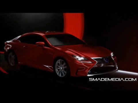 Lexus Unveiled the RC Coupe and LF-NX Turbo – SMADEMEDIA.COM